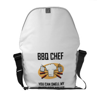 BBQ Chef Smell Butts Commuter Bags
