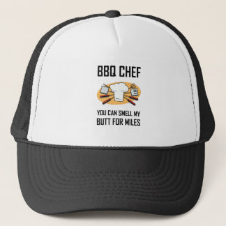 BBQ Chef Smell Butts Trucker Hat