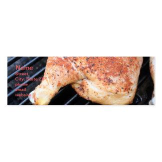 BBQ Chicken Mini Business Card