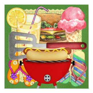 BBQ Cook Out Card