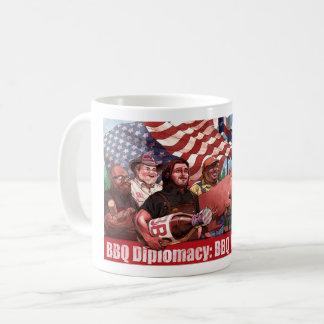 BBQ Diplomacy Mug (Long text)