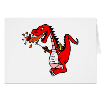 BBQ Dragon Card