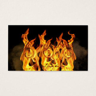 BBQ Flames Business Card