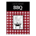 BBQ Invitation Card
