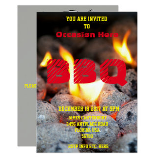 BBQ Invitation for Any Occasion -
