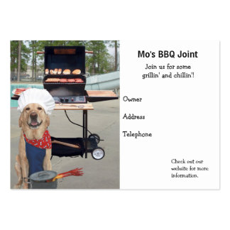 BBQ Joint Large Business Card