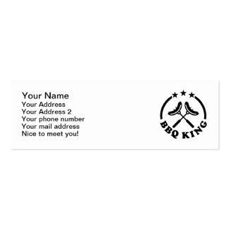 BBQ King barbecue Business Card
