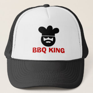 BBQ King hat for men