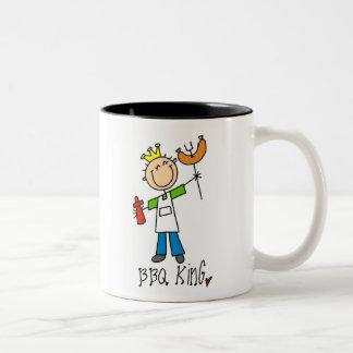 BBQ King Two-Tone Mug