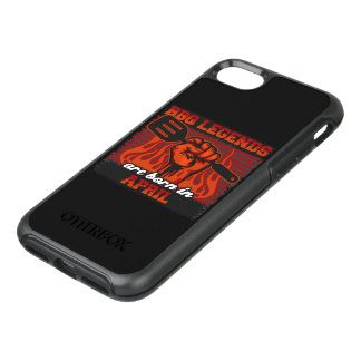 BBQ Legends are Born in April OtterBox Symmetry iPhone 8/7 Case