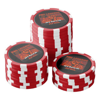 BBQ Legends are Born in April Poker Chips