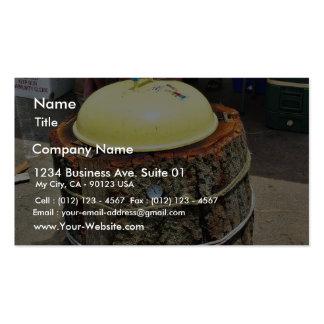 Bbq Logs Lids Business Cards