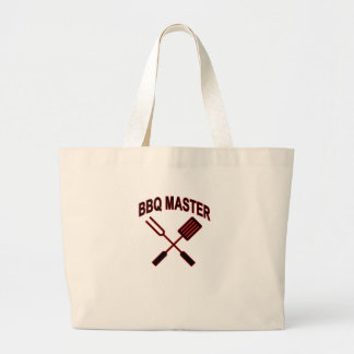 BBQ MASTER LARGE TOTE BAG