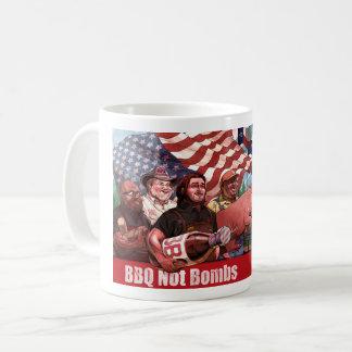 BBQ Not Bombs Mug