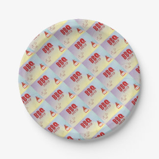 BBQ Party Paper Plate