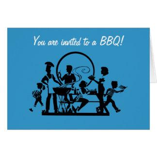 BBQ/Picnic print Card