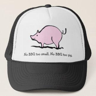 BBQ Pig Trucker Hat