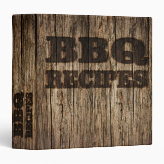 BBQ Recipes Binder