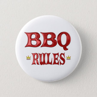 BBQ Rules 2 Inch Round Button