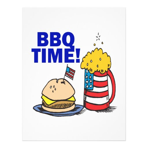 BBQ Time Flyers