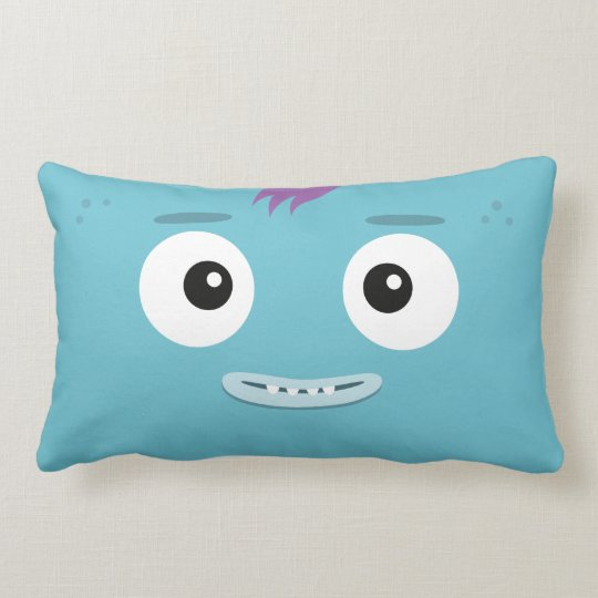 """BBSS Fun Band Blue Pillow (21""""x13"""")"""