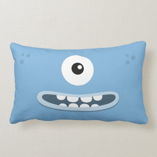 "BBSS La Tee Dah Blue Pillow (21""x13"")"