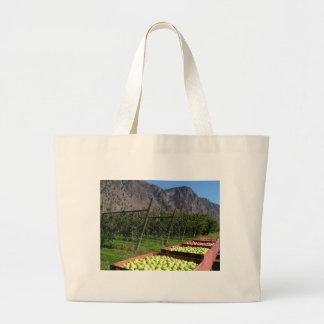 BC Apple Harvest Large Tote Bag