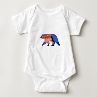 BC Bear photo in Banff Baby Bodysuit