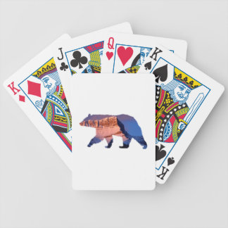 BC Bear photo in Banff Bicycle Playing Cards