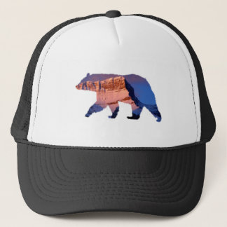 BC Bear photo in Banff Trucker Hat