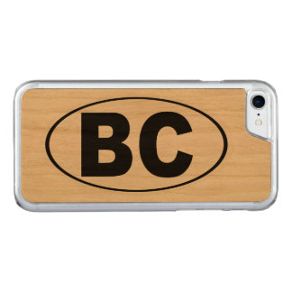 BC Boulder City Nevada Carved iPhone 8/7 Case