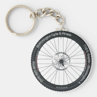 BC&F Bike Tire Key Chain