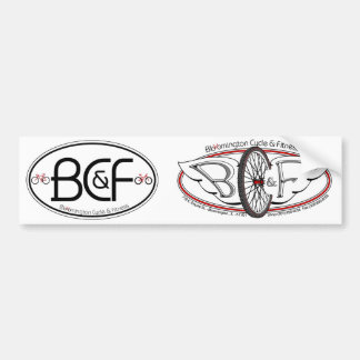 BC&F DIY Bumper Stickers