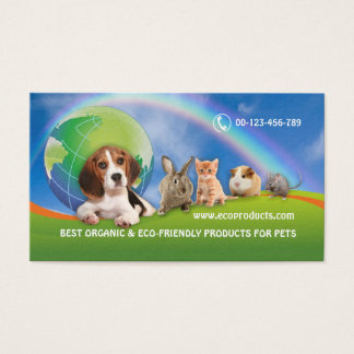 BC for organic product's distributor Business Card
