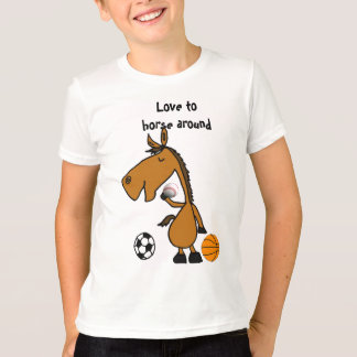 BC- Horsing Around Sports Shirt