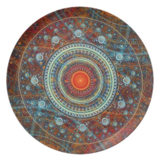 BC Julian 6 Melamine Plate