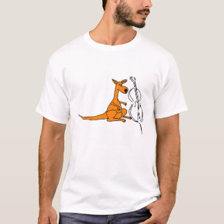BC- Kangaroo with a Cello Shirt
