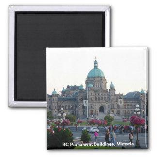 BC Parliament Buildings/Victoria BC Canada Magnet
