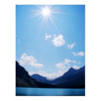 BC Rocky Mountain Sunlight Postcard