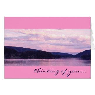 BC Sunset Card