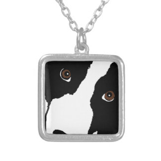 BC Watching Ewe Silver Plated Necklace