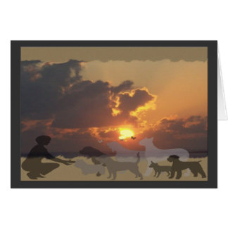 BCD Sunset Sympathy Card