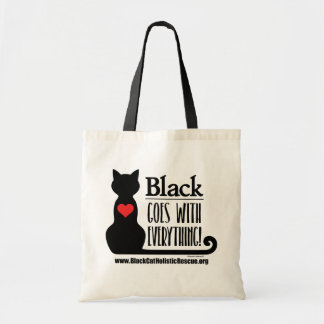 BCHR Black Goes With Everything! Basic Tote
