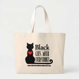 BCHR Black Goes With Everything! Jumbo Tote