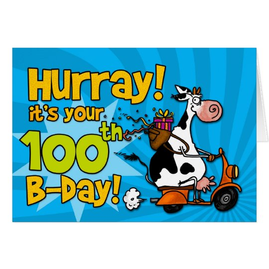 bd scooter cow - 100 card