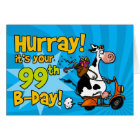 bd scooter cow - 99 card