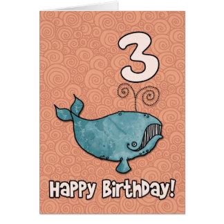 bd whale - 03 greeting card