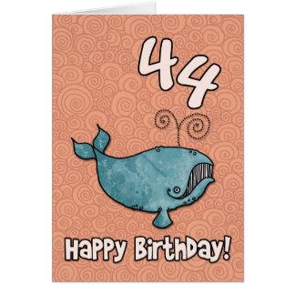 bd whale - 44 card