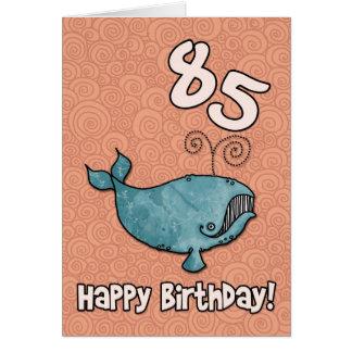 bd whale - 85 card
