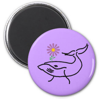 BD- Whale Drawing Magnet